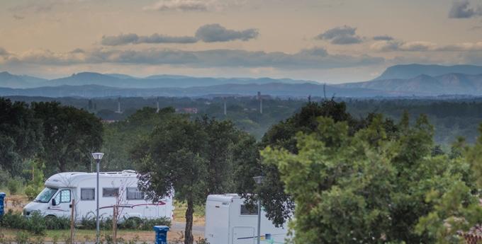 paysage Argelès-sur-Mer camping La Coste Rouge