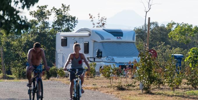 Emplacements de camping à Collioure