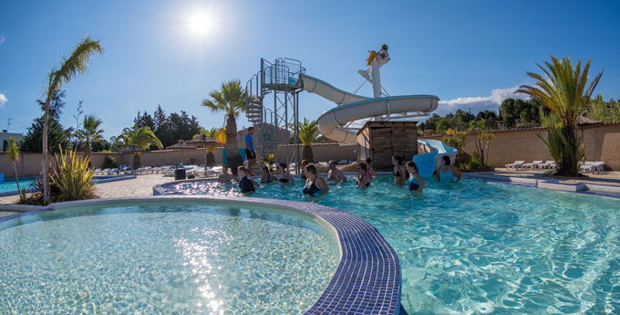 La Coste Rouge camping avec piscine à Argelès sur Mer