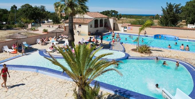 espace aquatique camping La Coste Rouge Argelès-sur-Mer