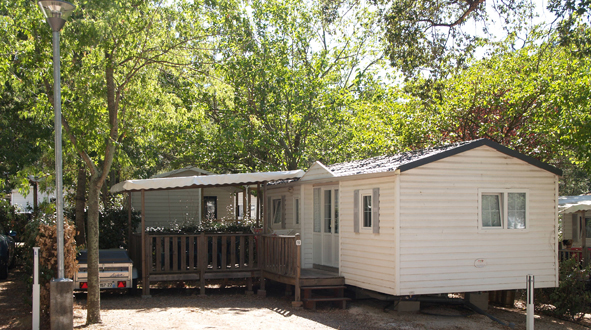 Mobil-home Texas - 6 personnes 3 chambres camping La Coste Rouge
